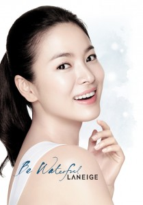 Song Hye Kyo pretty Laneige